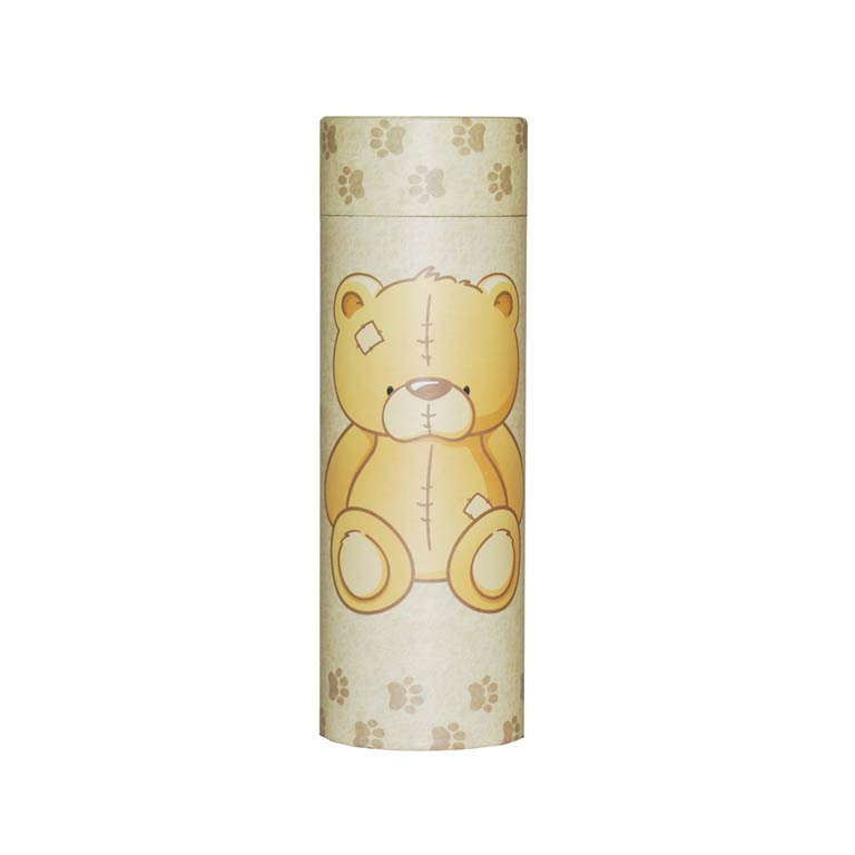 Scatter Tube Teddy Bear.