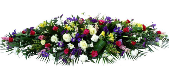 Funeral Coffin Spray Multi-Coloured